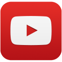 YouTube-social-squircle red 128px